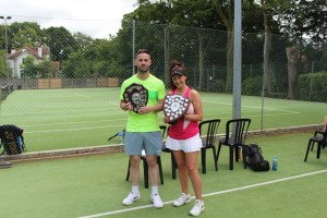 Lisa Edwards and Michael Graham Mixed Doubles Champions 2016