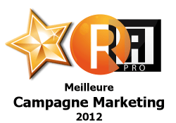 La meilleure campagne marketing 2012