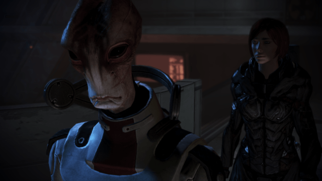 There are people who think there are better characters in the series than Mordin Solus. Those people are wrong.