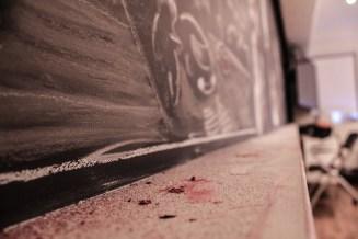 chalk build up