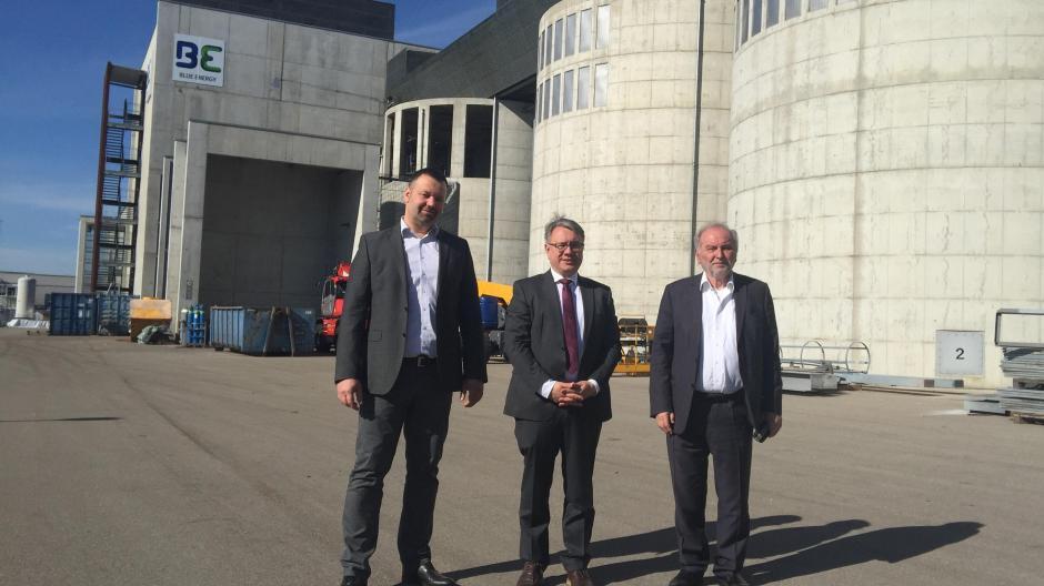 Holzkraftwerk Senden – Umrüstung hin zu Wasserstoff