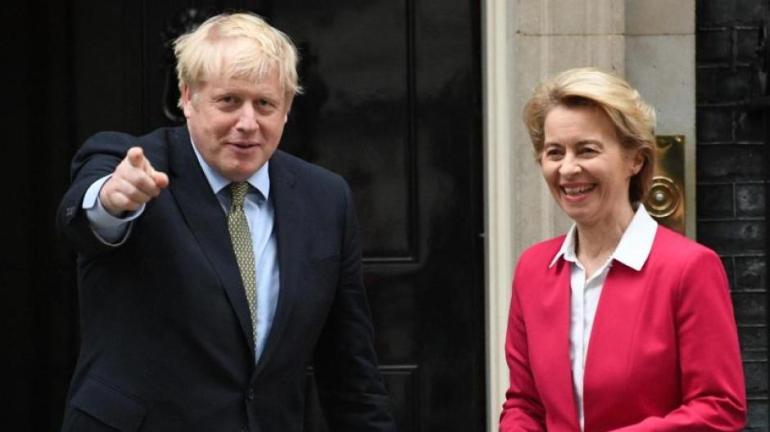 Boris Johnson and Ursula von der Leyen want to negotiate.