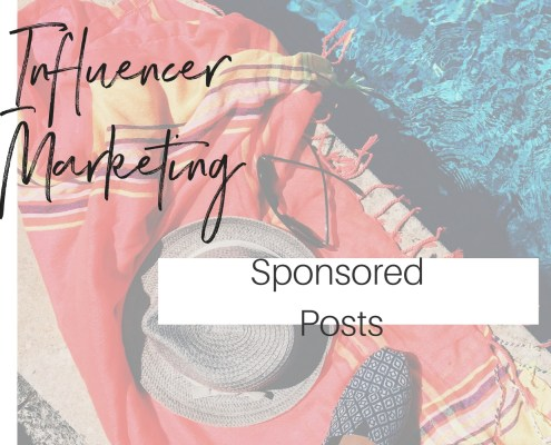 Infleuncer Marketing Sponsored Posts