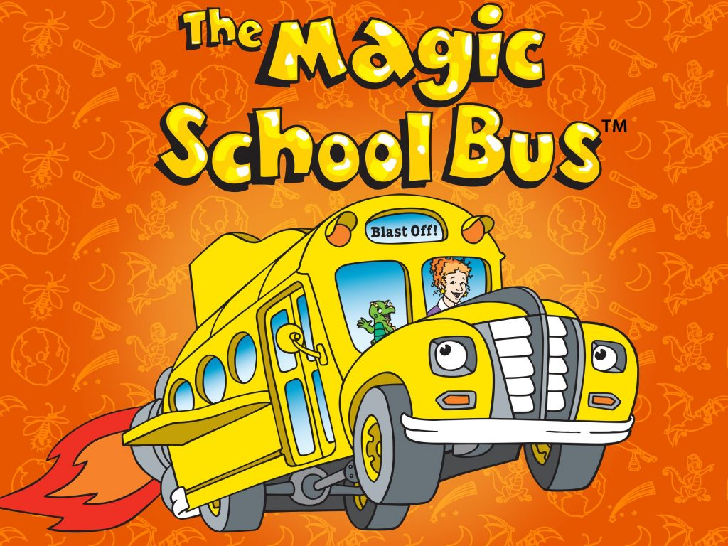 The Magic School Bus Book Party