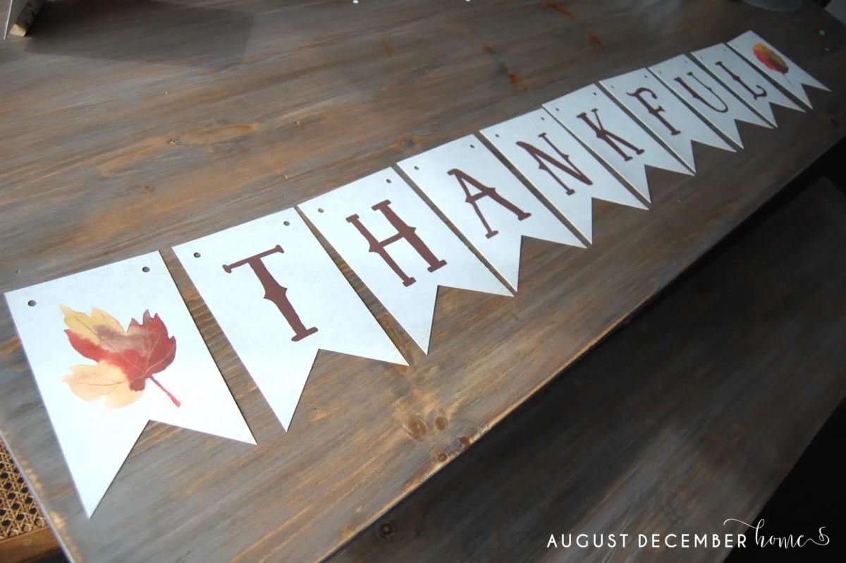 free printable fall banners