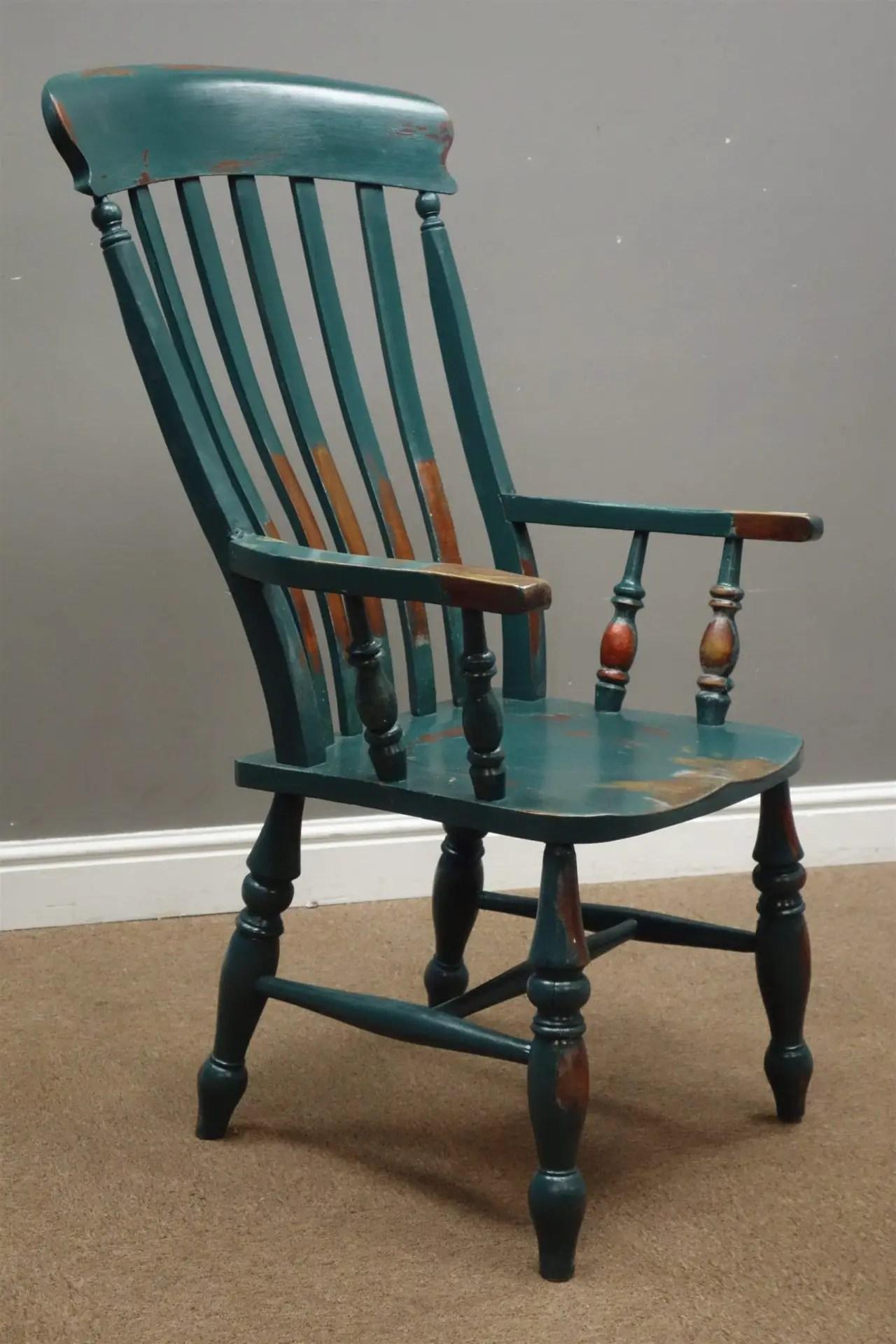 Distressed Antique Farmhouse Chair