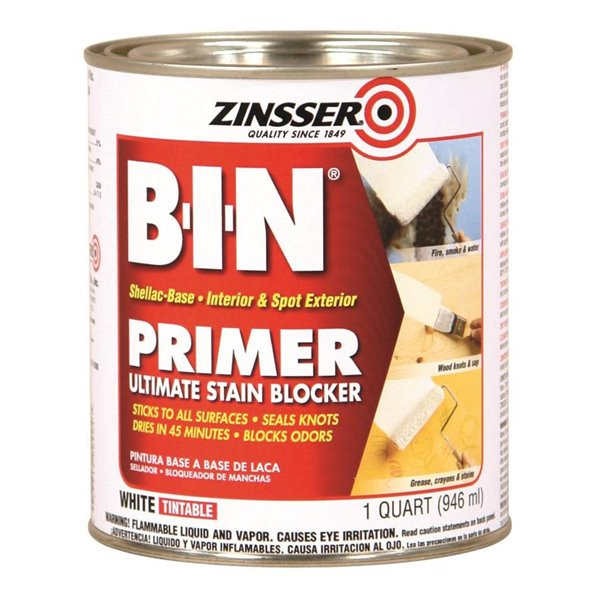 Zinsser BIN Shellac Based Primer