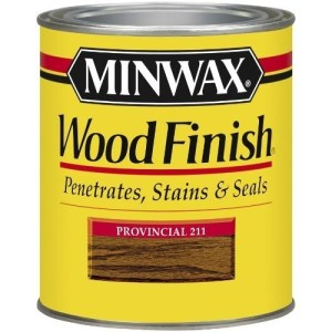 Minwax Provincial 211 stain wood finish