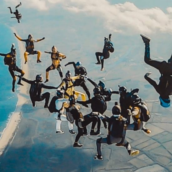 Formation Skydiving with Fly Warriors for World Record 2019