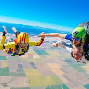 Tandem Skydiving with friends