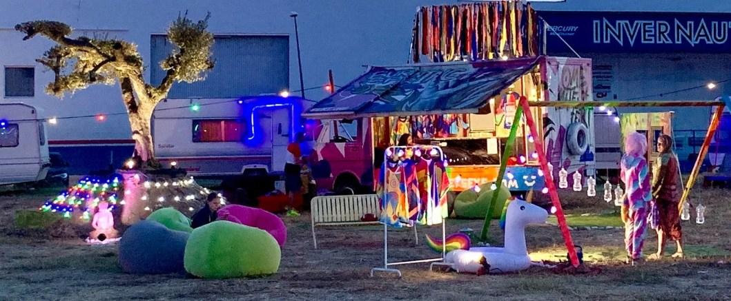Art, Camp, Artistic, Colorful Camp, Colorful Art, Empuriabrava, Espana