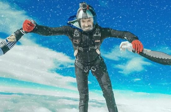 skydiving during the winter season at Skydive Empuriabrava