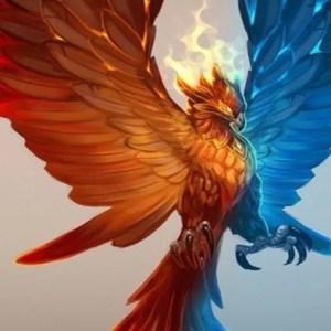 bird of life. Fenix