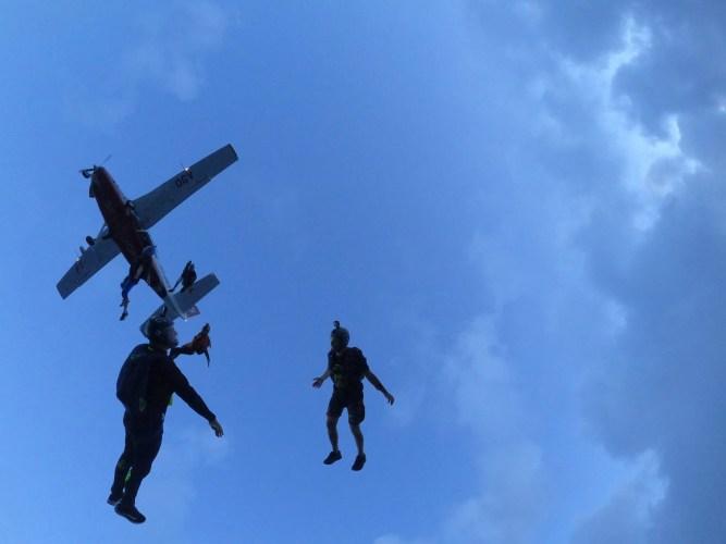 skydiving community in Brazil