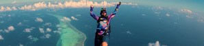 skydiving over The Maldives and fighting against addiction - recovery