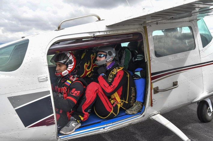 Cessna Skydiving airplane