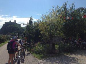 2. Etappe Augustour 2014: Raststation Wiesl