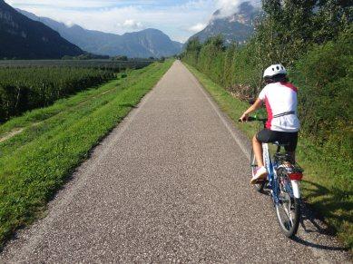 3. Etappe Augustour 2014: Etschradweg