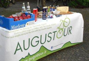3. Etappe Augustour 2014: Verpflegung