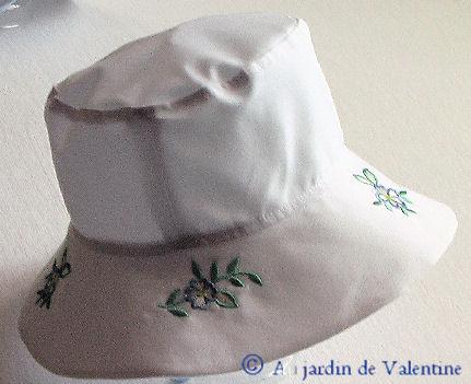 Patron Chapeau EnfantAu Jardin De Valentine
