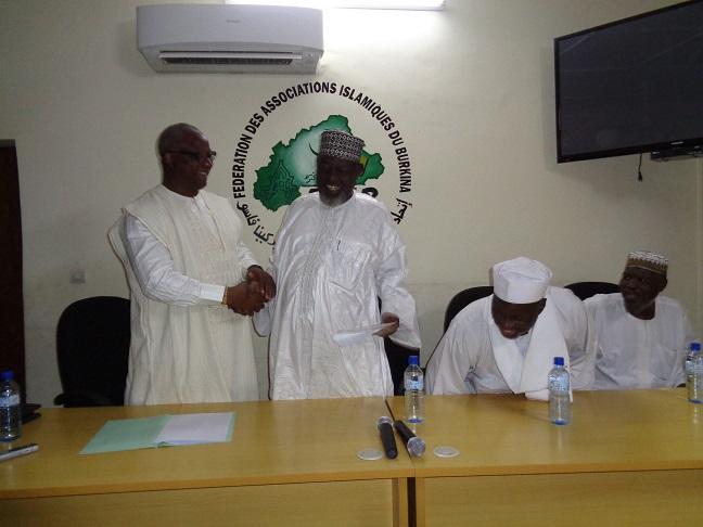 Burkina Faso :  Le maire Béouindé sollicite la bénédiction de la Ouma