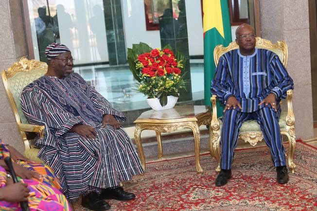 Présidence du Faso : Trois nouveaux ambassadeurs à Kosyam