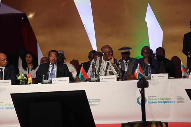 5e Sommet UA-UE: Le bilan du président du Faso