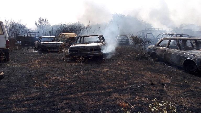 Incendie à la Cour d'appel de Ouagadougou