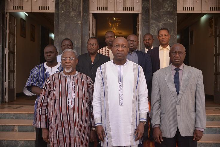 Conseil économique et social : Moïse Napon au rapport chez le PM