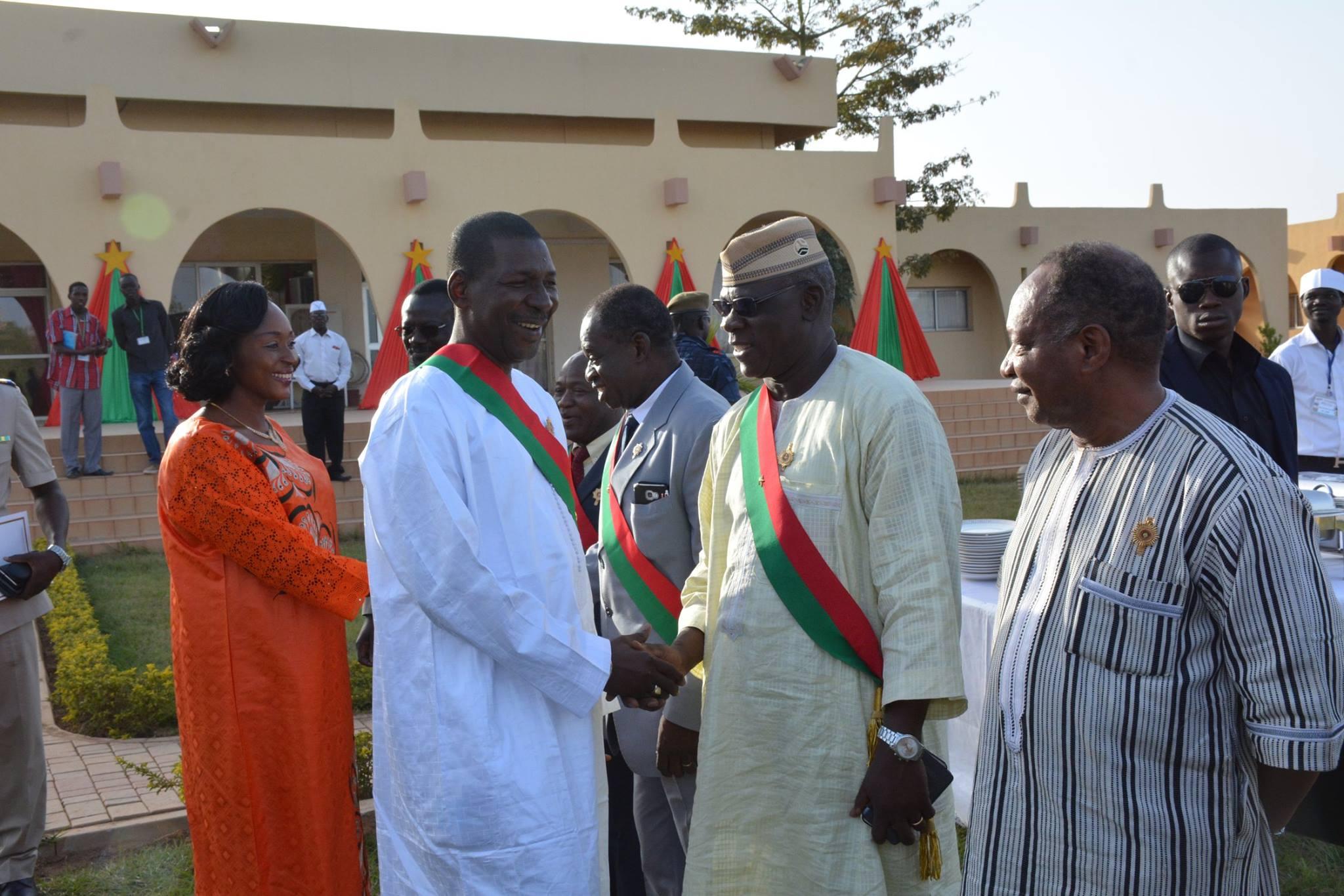 Assemblée nationale : Bonne année des députés et personnel à Sakandé