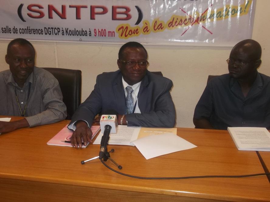 Répartition du Fonds commun au trésor:  Le SNTPB crie à une «discrimination inacceptable»