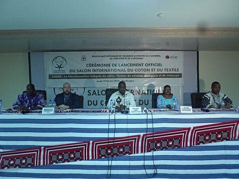 Salon international du coton et du textile : 1ère édition, du 27 au 29 septembre à Koudougou