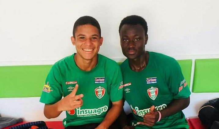 Football : Un gamin de Larlé (USO) au Brésil