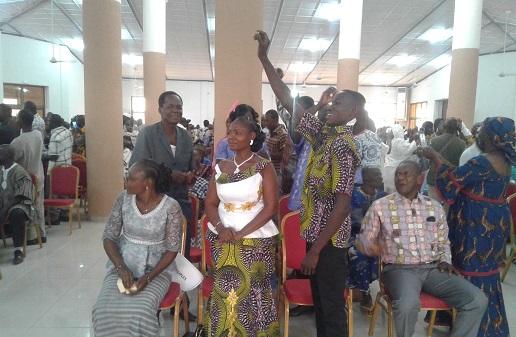 Mariage collectif à l'arrondissement n°9 de Ouaga : 102 couples légalisent leur situation