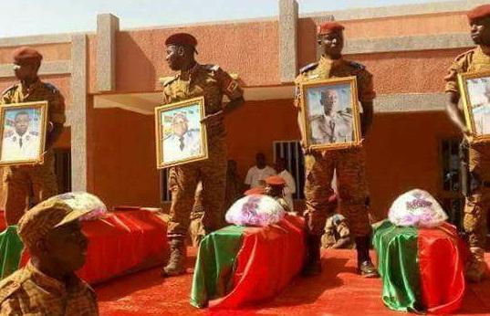 Double attentat du 2 mars 2018 à Ouagadougou : Les huit soldats inhumés au cimetière de Gounghin