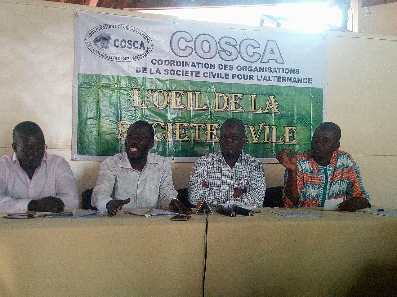 Attaques terroristes:  Pour la COSCA, les malheurs du Burkina sont causés par Compaoré et l'ancien régime