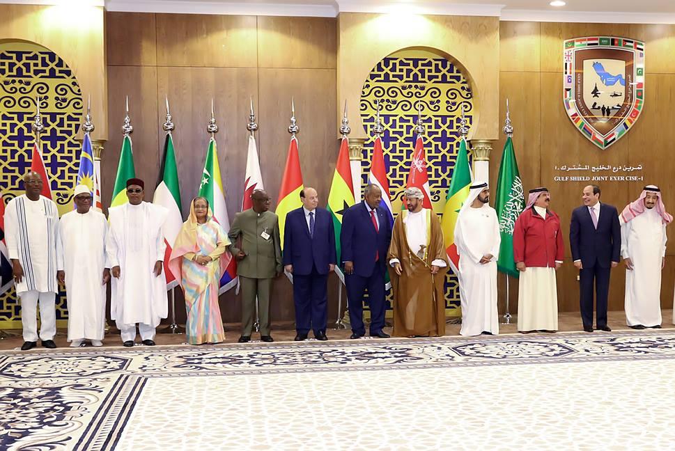 Peninsule arabique : Roch assiste au défilé de clôture du bouclier de Golf
