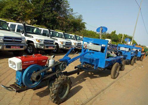 Remise de matériels agricoles aux producteurs :  Un bon samaritain nommé Jacob Ouédraogo