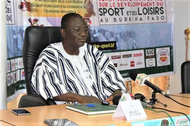 Ministère des sports et des loisirs: Le ministre Azoupiou, décidé à faire du sport un indice du développement