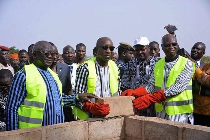 Cité de la diaspora burkinabè à Guiguemtenga: Le Premier ministre Paul a posé la première pierre