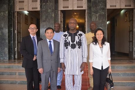 Ouaga-Pékin: Ouverture de l'ambassade le 12 juillet