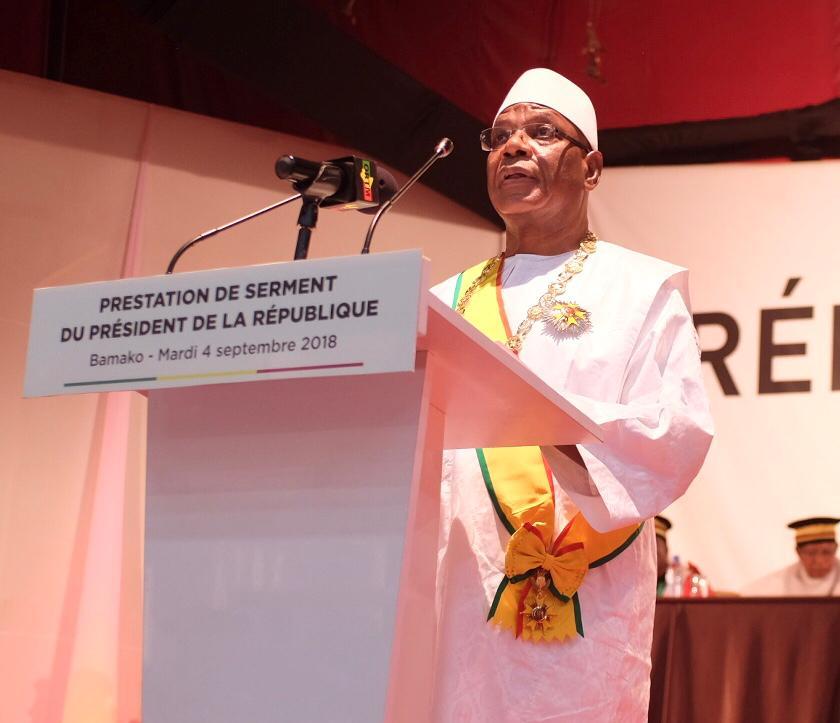 Prestation de serment d'IBK: Sur fond de crise postélectorale et vieux défis à relever