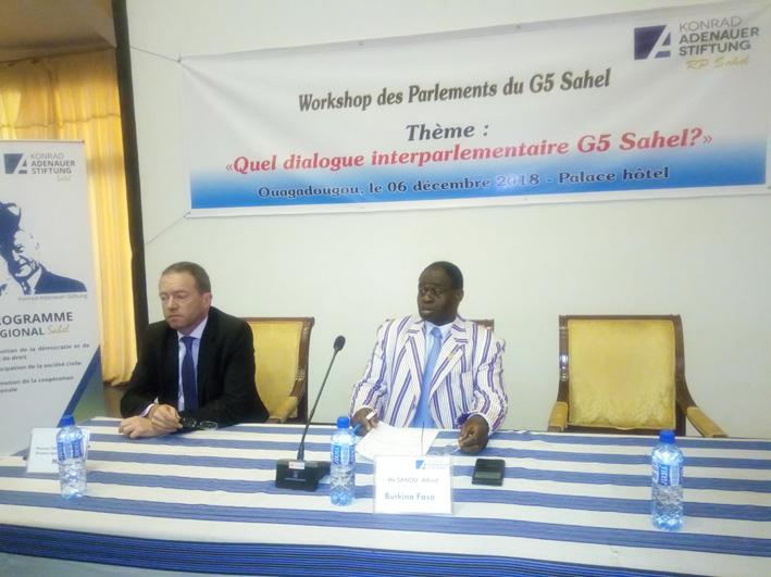 Lutte contre l'insécurité: Les parlementaires du G5-Sahel échangent à huis–clos à Ouagadougou