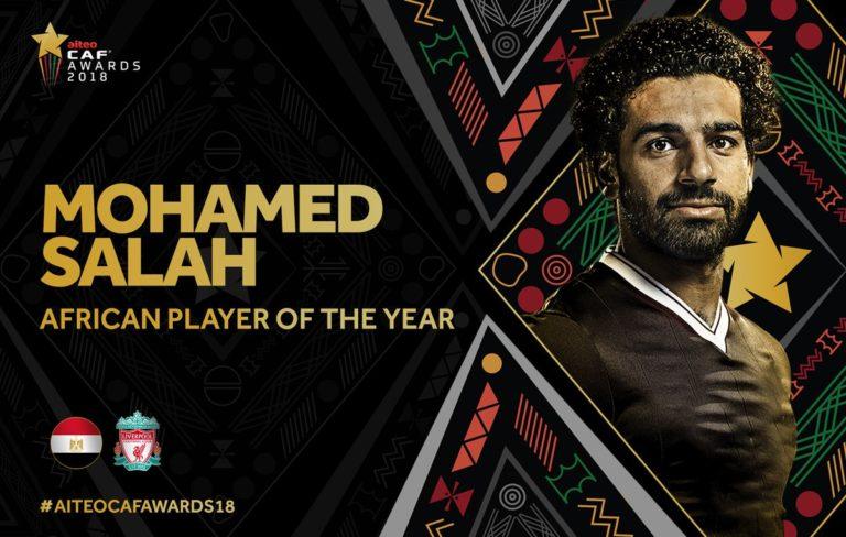 Football : Mohamed Salah Ballon d'Or africain pour la deuxième année de suite