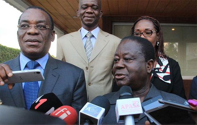 Côte d'Ivoire : Adoption d'une feuille de route entre Affi et Bédié pour la future plateforme de l'opposition