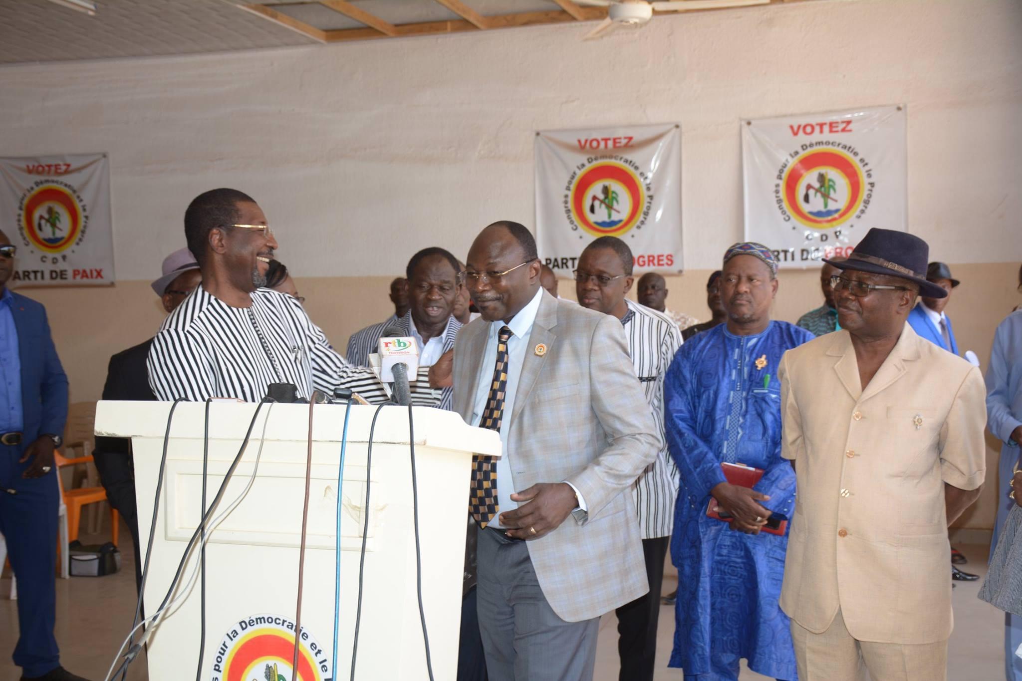 Assemblée nationale: Sakandé dans les locaux du CDP et de l'UPC