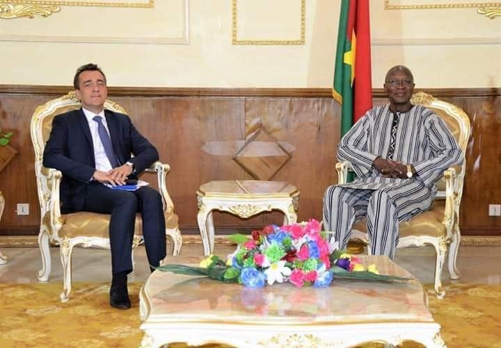 Primature: Une lettre de félicitation du PM français à Christophe Dabiré