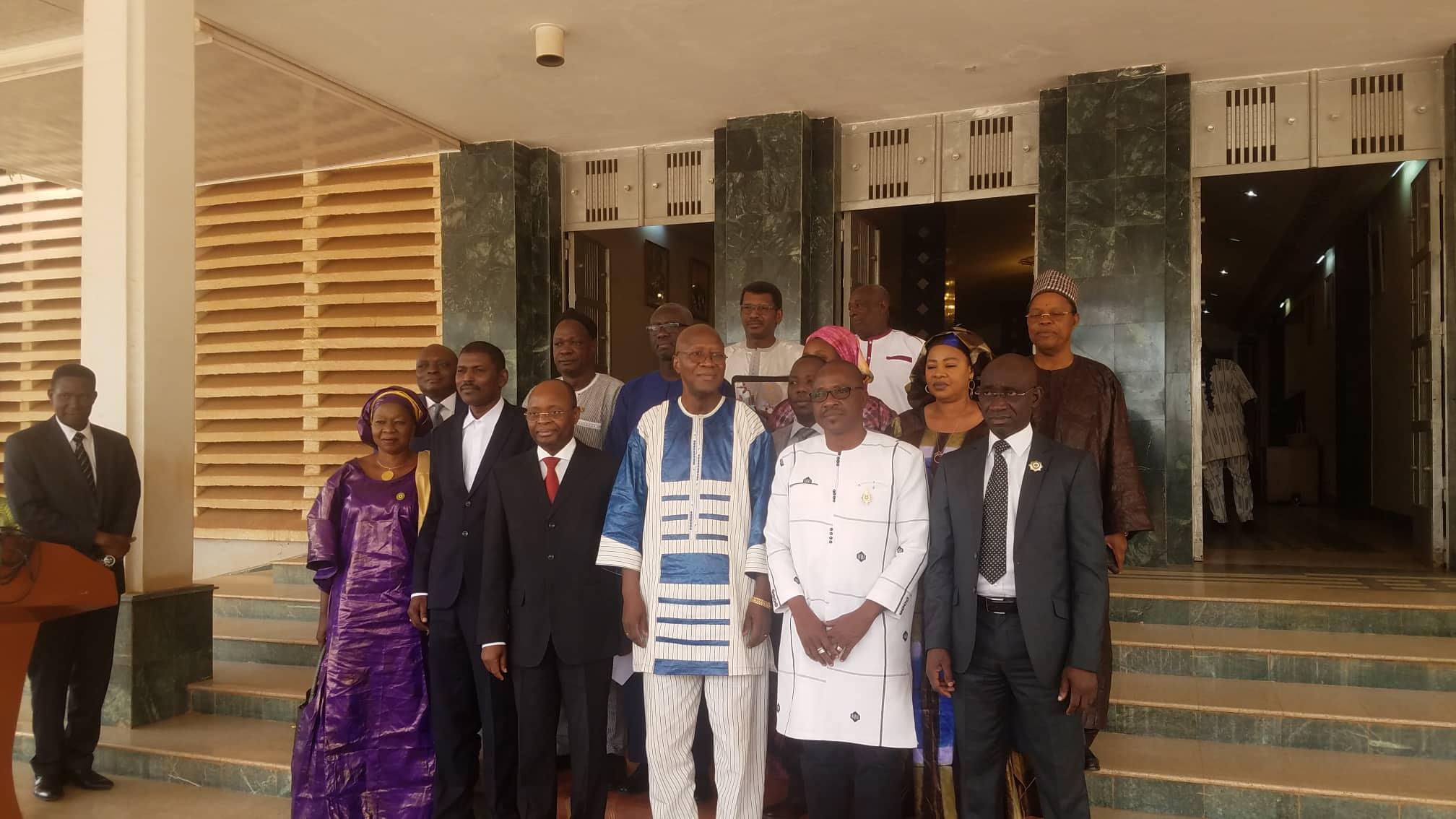 Primature: Christophe Dabiré reçoit le FMI et le CIP UEMOA