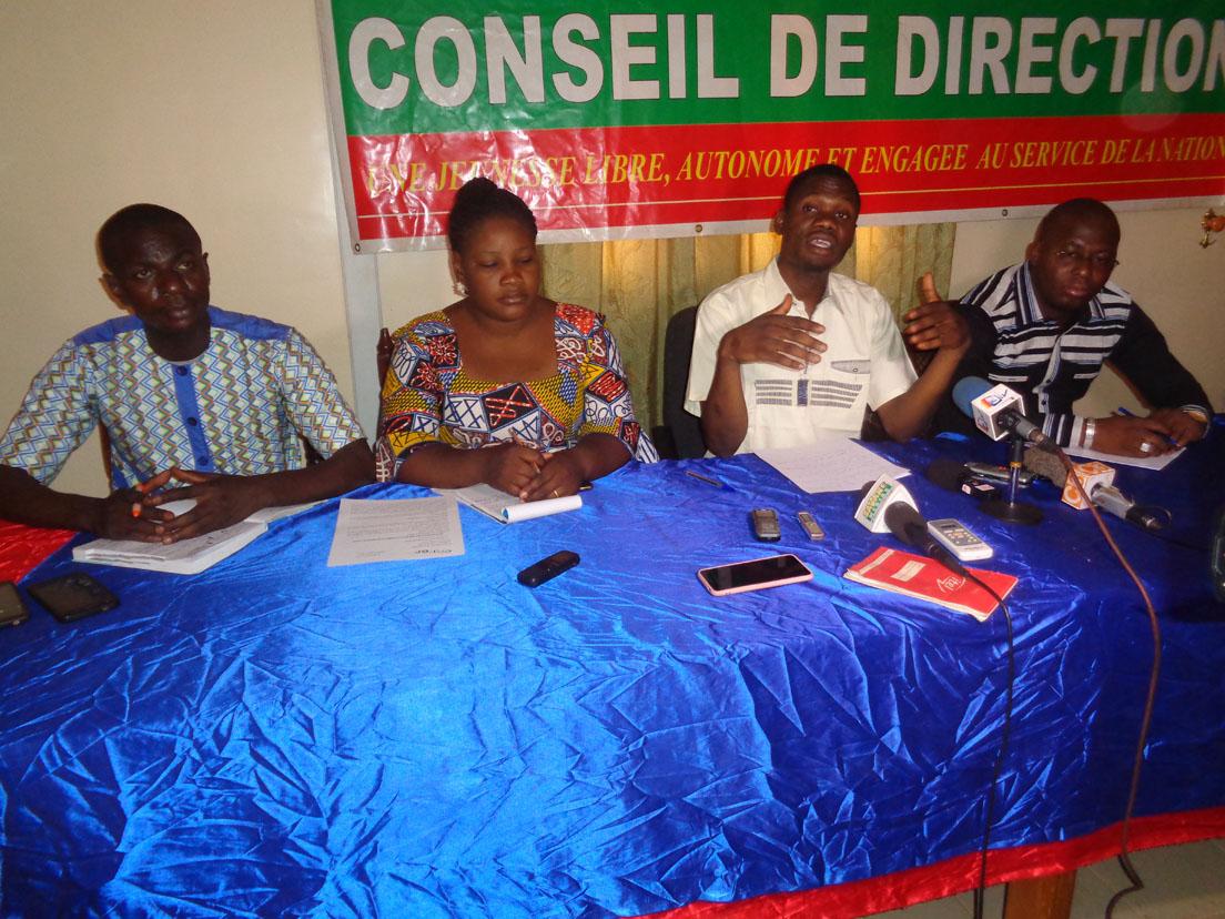 Ministère de la Jeunesse: Les jeunes du CNJ-BF favorables au nouvel organigramme