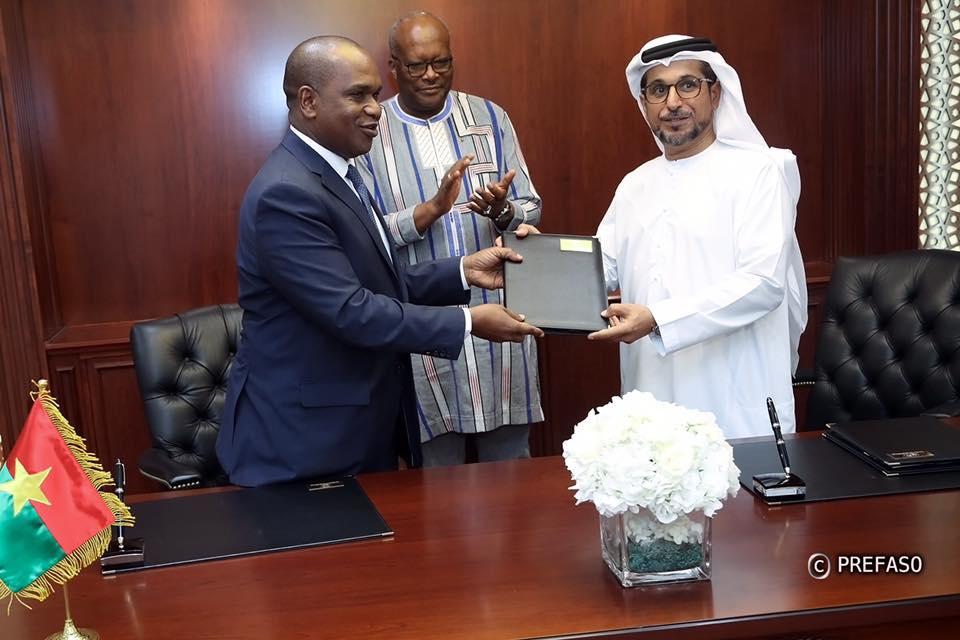 Coopération Burkina/ Emirats Arabes Unis: 10 milliards pour la promotion de l'emploi et l'électrification de 42 localités